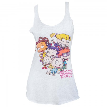 Rugrats Women's White Cast Tank Top