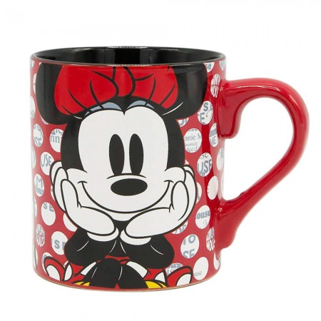 Minnie Mouse Polka Dot Design 14 Ounce Mug