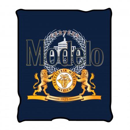 Modelo 45 X 60 Blue Label Fleece Blanket