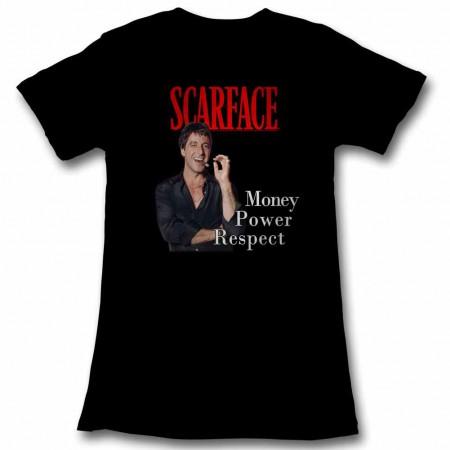 Scarface Mpr Black Juniors TShirt
