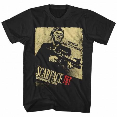 Scarface Scarface Action Black TShirt