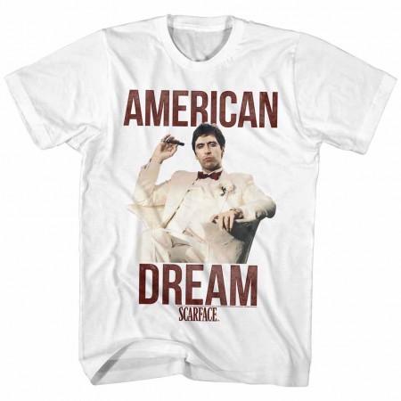 Scarface Americandream White TShirt
