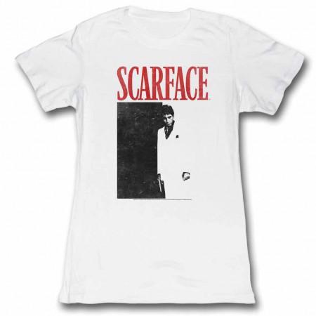 Scarface Tony Close-Up Black TShirt