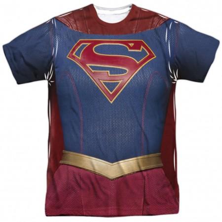 Supergirl Costume Tee