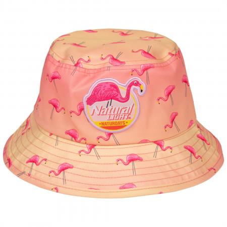 Natural Light Naturdays Flamingo Bucket Hat