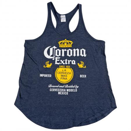 Corona Extra Label Symbol Tank Top