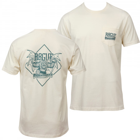Rogue Brewery Batsquatch Front and Back Print Pocket Tee