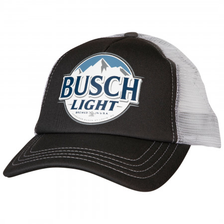 Busch Light Curved Brim Snapback Hat