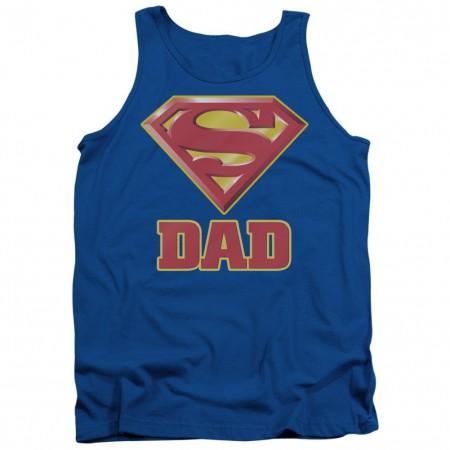 Superman Super Dad Logo Tank Top
