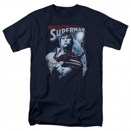 Superman American Hero Tshirt