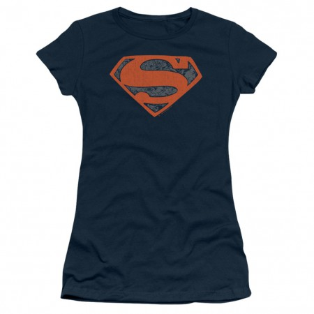 Superman Vintage Shield Women's Tshirt