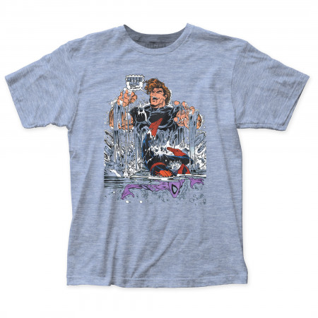 Hydro-Man vs. Spider-Man Comic Cover Men's T-Shirt