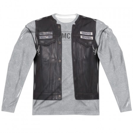 Sons Of Anarchy Unholy Long Sleeve Costume Tee