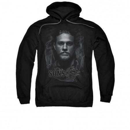 Sons Of Anarchy Jax Smoke Black Pullover Hoodie