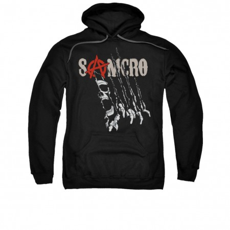 Sons Of Anarchy Rip Through Black Pullover Hoodie