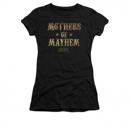 Sons Of Anarchy Mothers Of Mayhem Black Juniors T-Shirt