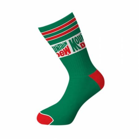 Mountain Dew Crew Socks