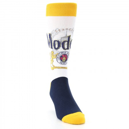 Modelo Yellow And White Label Socks