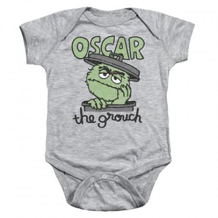 Sesame Street Oscar The Grouch Onesie