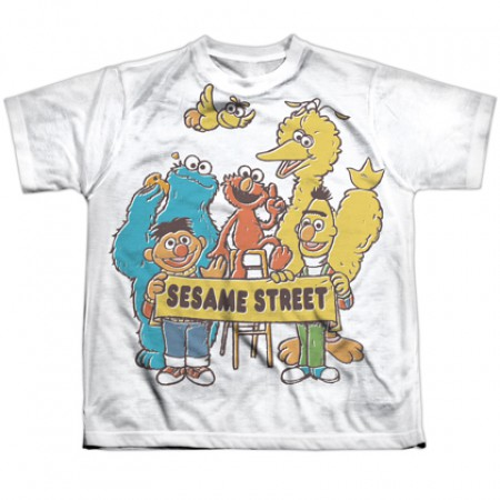 Sesame Street Block Party Youth Tshirt