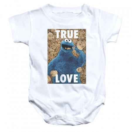 Sesame Street Cookie Monster True Love Onesie