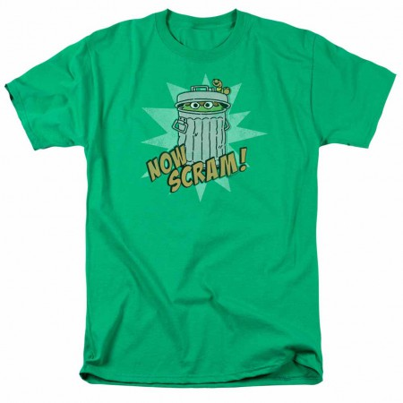 Sesame Street Now Scram Green T-Shirt