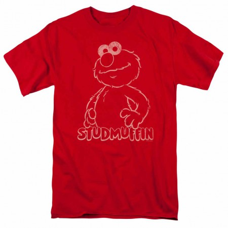 Sesame Street Studmuffin Red T-Shirt