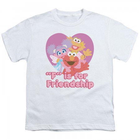 Sesame Street F Is For Friendship Youth Tshirt
