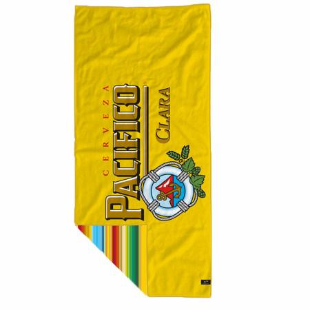 Pacifico Clara Beer 30x60 Beach Towel