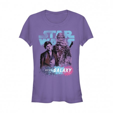 Star Wars Han Solo Story Best In The Galaxy Women's Tshirt