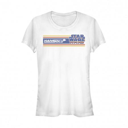 Star Wars Han Solo Story Logo Women's Tshirt