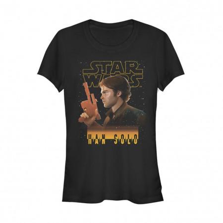 Star Wars Han Solo Story Scoundrel Women's Tshirt