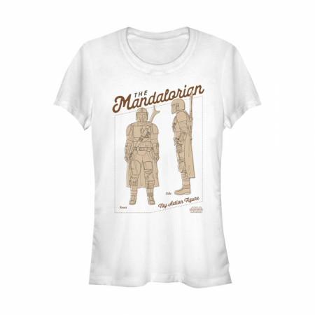 The Mandalorian Toy Figure Women's T-Shirt