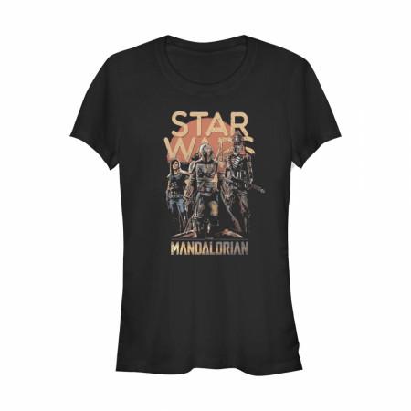 The Mandalorian Grunge Characters Women's T-Shirt
