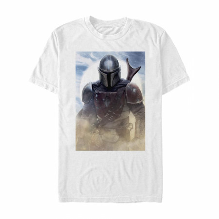The Mandalorian Dusty Portrait T-Shirt