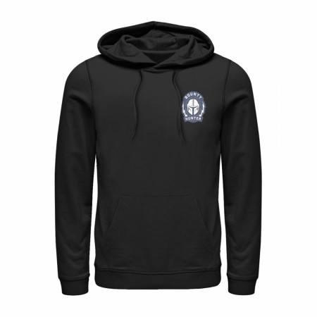 The Mandalorian Badge Black Hoodie