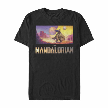 The Mandalorian Dreamscape T-Shirt