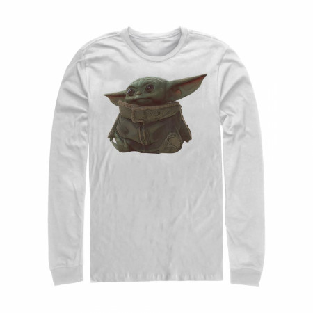 Star Wars The Mandalorian The Child Portrait Long Sleeve Shirt