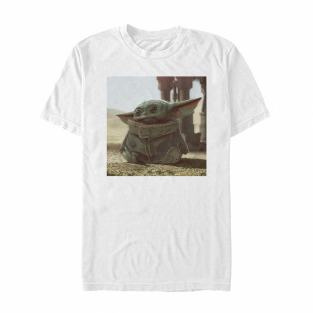 Star Wars The Mandalorian The Child White T-Shirt