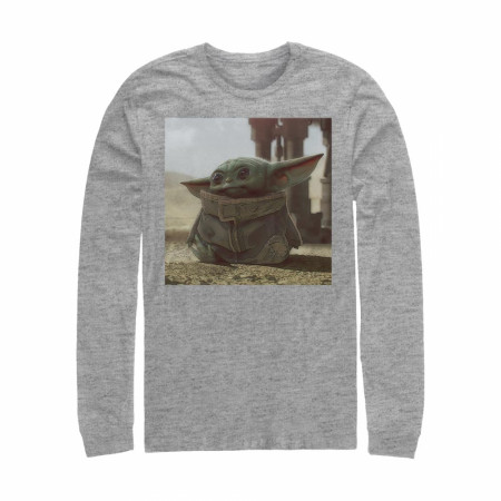 Star Wars The Mandalorian The Child Square Frame Long Sleeve Shirt
