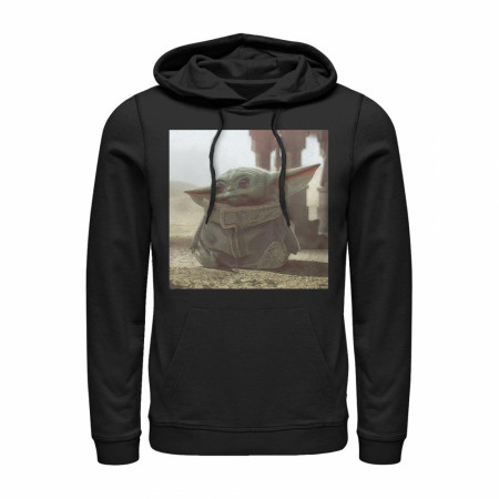 Star Wars The Mandalorian The Child Square Frame Hoodie