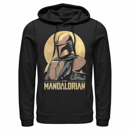 The Mandalorian Sunset Hoodie