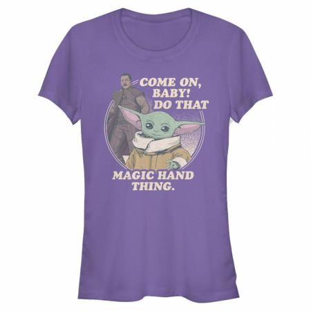 "The Mandalorian ""The Child"" Magic Hand Thing Women's T-Shirt"