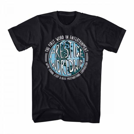 Step Brothers Prestige Worldwide Black T-Shirt