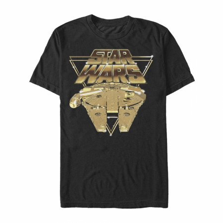 Star Wars Golden Millenium Falcon T-Shirt