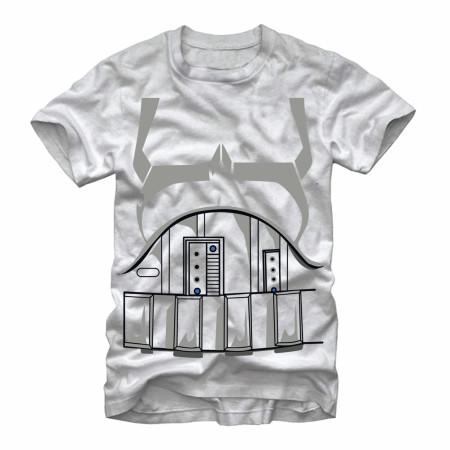 Star Wars Storm Trooper Costume T-Shirt