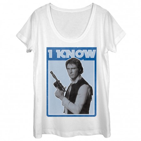 Star Wars Han Solo I Know Women's Tshirt