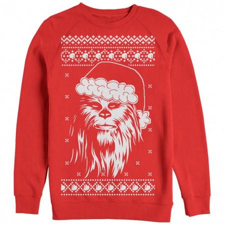 Star Wars Chewed Red Ugly Sweatshirt