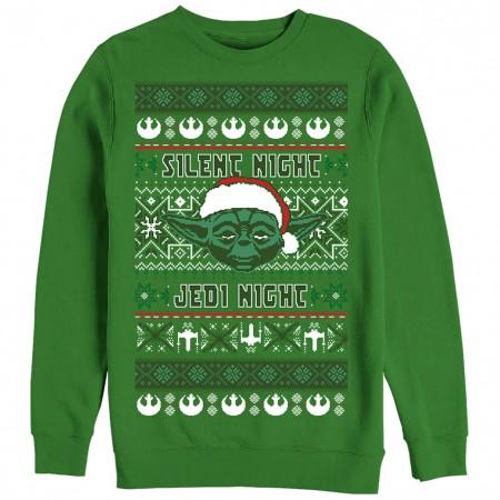 Star Wars Silent One Green Ugly Sweatshirt