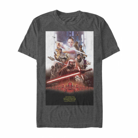 Star Wars The Rise of Skywalker Movie Poster T-Shirt